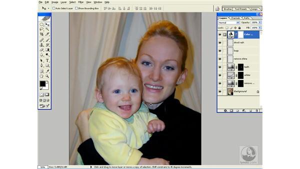 merging layers: Photoshop CS Power Shortcuts