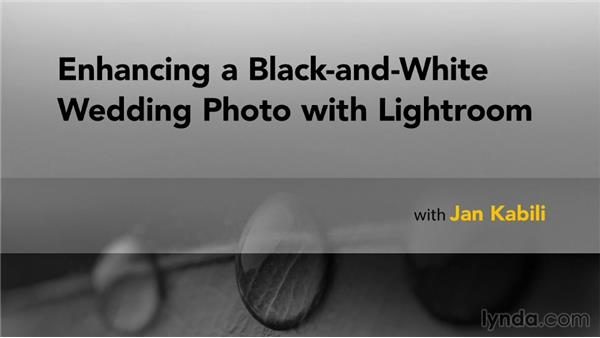 Next steps: Enhancing a Black-and-White Wedding Photo with Lightroom