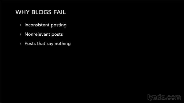 Understanding why blogs fail: Blogging Strategies for Musicians and Bands