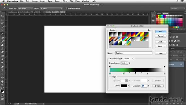 Creating a circular gradient: Designing a Calendar