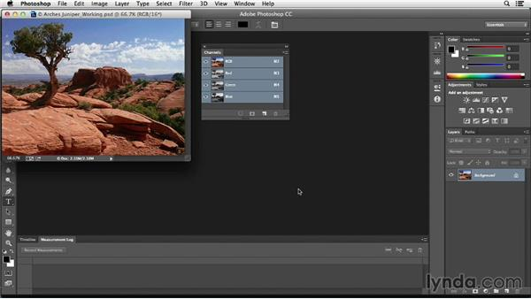 Using grayscales and neutrals for color correction: Photoshop Color Correction: Fundamentals