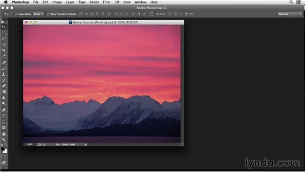 Arranging the Photoshop workspace: Photoshop Color Correction: Fundamentals