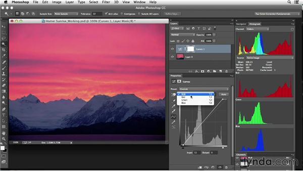 Introducing color tools: Photoshop Color Correction: Fundamentals