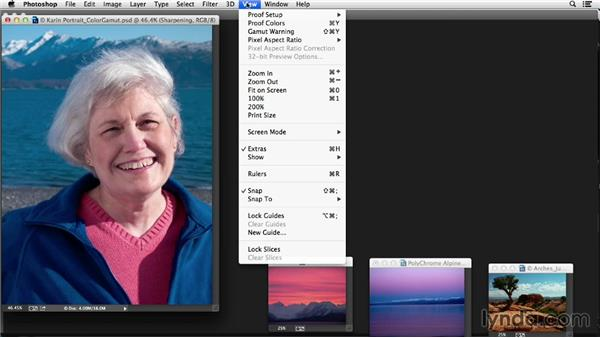 Understanding color spaces, profiles, and gamuts for output: Photoshop Color Correction: Fundamentals
