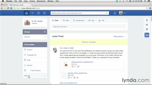 Getting started with Edmodo: Teacher Tips