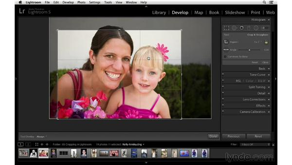 Selecting and customizing the aspect ratio: Cropping with Photoshop and Lightroom