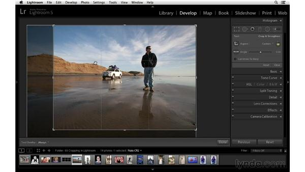 Customizing the crop overlay: Cropping with Photoshop and Lightroom