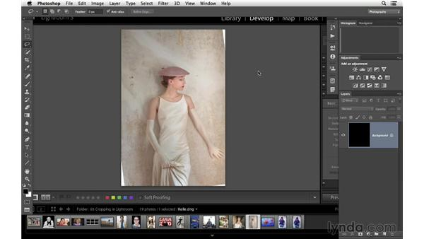 Fixing a common issue when you crop and rotate: Cropping with Photoshop and Lightroom