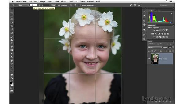 Creating your own custom crop presets: Cropping with Photoshop and Lightroom