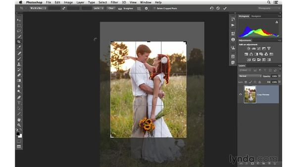 Crop and rotate for creative effect: Cropping with Photoshop and Lightroom