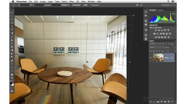 Using the Perspective Crop tool to fix distortion: Cropping with Photoshop and Lightroom