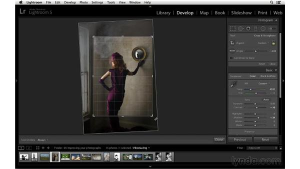Finding the right crop in a fashion photograph: Cropping with Photoshop and Lightroom
