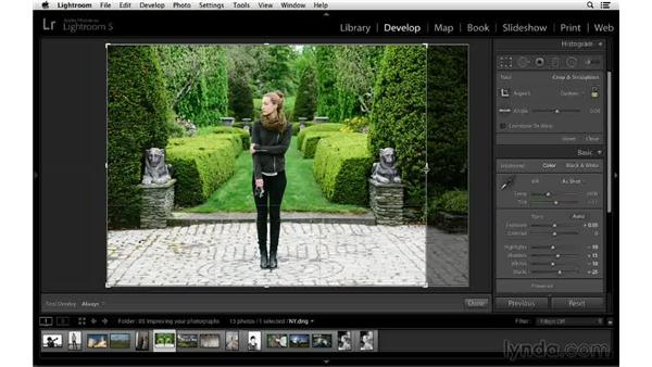 Adding balance to a photograph by cropping: Cropping with Photoshop and Lightroom
