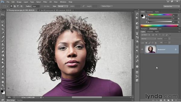Shining light onto a photograph: Photoshop CC One-on-One: Mastery