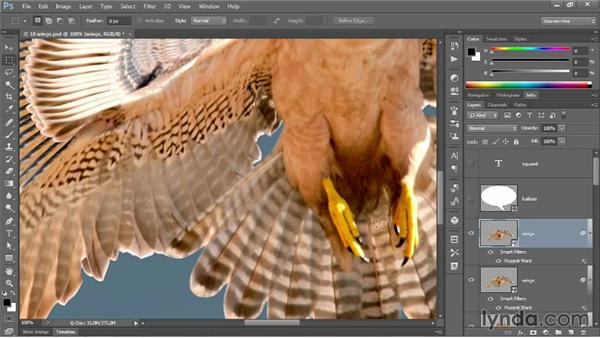 Using Pin Depth and Density: Photoshop CC One-on-One: Mastery