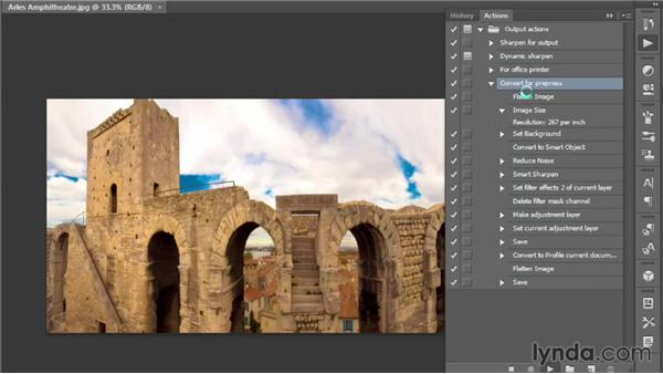 Three incentives to recording actions: Photoshop CC One-on-One: Mastery
