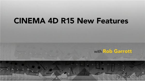 Next steps: CINEMA 4D R15 New Features