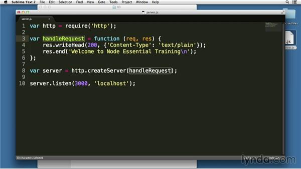 Understanding callback execution in the event loop: Node.js Essential Training (2013)