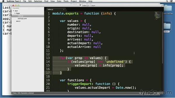 Understanding module caching and scopes: Node.js Essential Training (2013)
