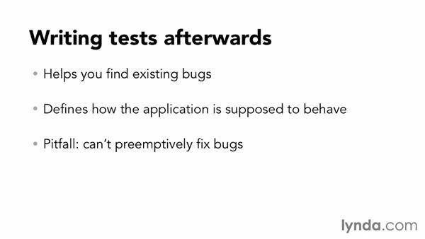 Evaluating unit testing methodologies: Node.js Essential Training (2013)