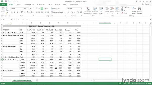 Using icon sets: Data-Driven Presentations with Excel and PowerPoint