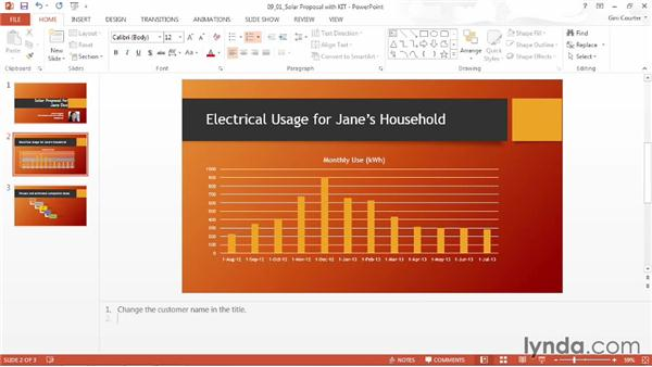 Documenting your presentation: Data-Driven Presentations with Excel and PowerPoint