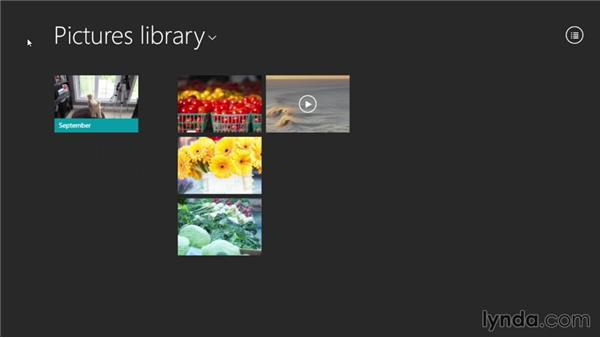 Working with photos: Windows 8.1 Essential Training