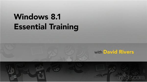 Next steps: Windows 8.1 Essential Training