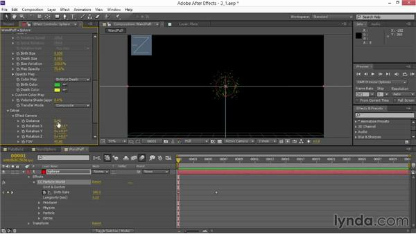 Creating a particle puff: VFX Techniques: Creating Particle Effects
