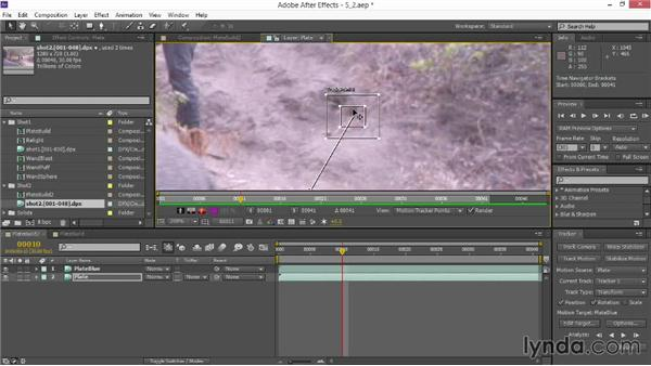 Motion tracking elements: VFX Techniques: Creating Particle Effects