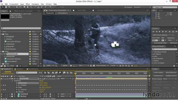 Creating smoke with simple particles: VFX Techniques: Creating Particle Effects
