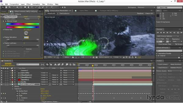 Integrating a CG explosion: VFX Techniques: Creating Particle Effects