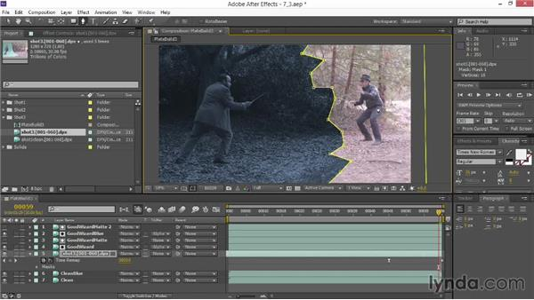Time remapping and split screening: VFX Techniques: Creating Particle Effects