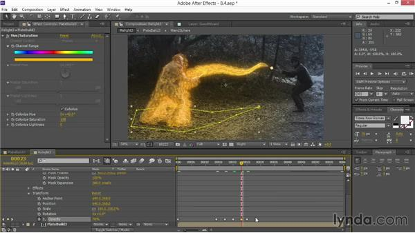 Final relighting: VFX Techniques: Creating Particle Effects