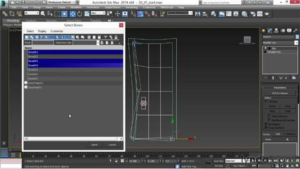 Setting the root node: Animating for Unity 3D in 3ds Max