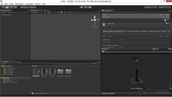 Assessing and configuring the imported model: Animating for Unity 3D in 3ds Max