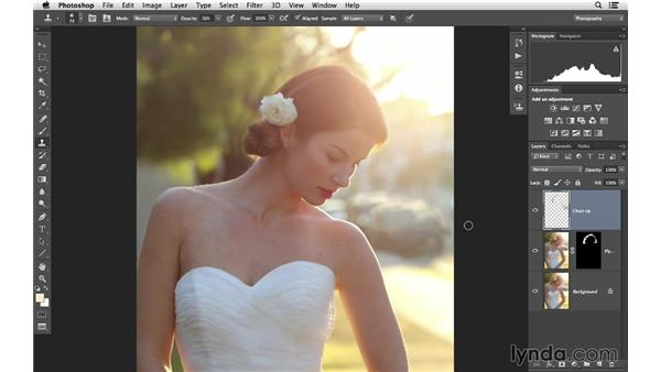 Lynda.com - Photoshop for Photographers: Portrait Retouching Software