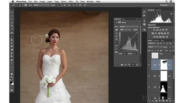 Enhancing the color and tone: Retouching Bridal Portraits with Photoshop
