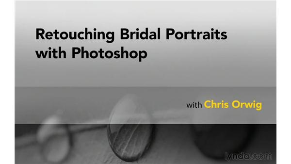 Goodbye: Retouching Bridal Portraits with Photoshop