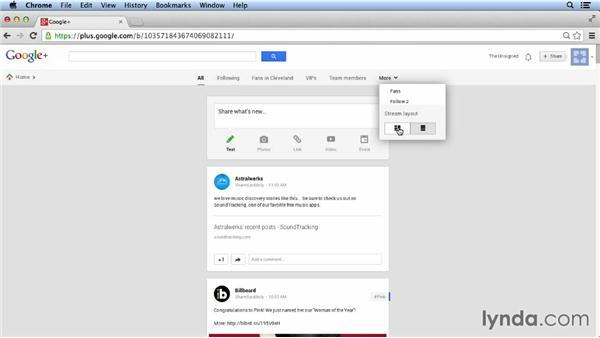Navigating the stream: Google+ for Musicians and Bands