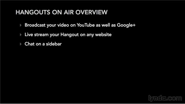Hangouts On Air overview: Google+ for Musicians and Bands