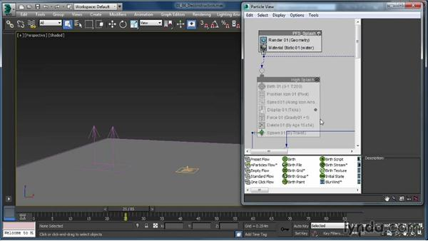 Deconstructing a flow: Up and Running with Particle Flow in 3ds Max
