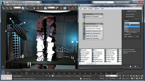 Breakdown of the Standard Flow: Up and Running with Particle Flow in 3ds Max