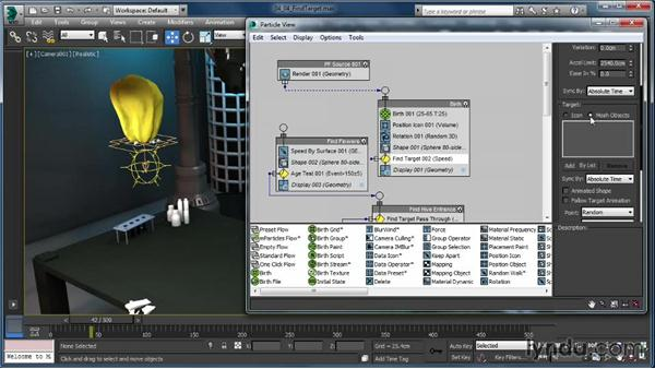 Find Target: Up and Running with Particle Flow in 3ds Max