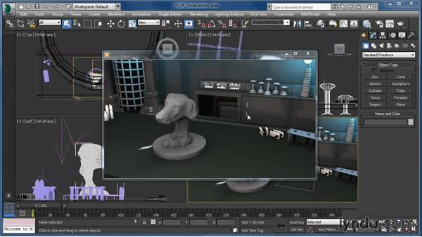 Final observations: Up and Running with Particle Flow in 3ds Max