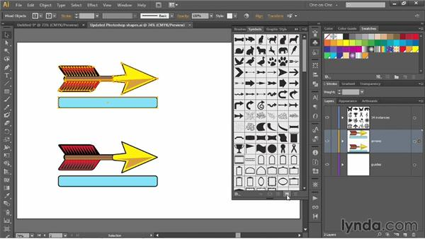 Introducing 9-slice scaling: Illustrator CC 2013 One-on-One: Mastery
