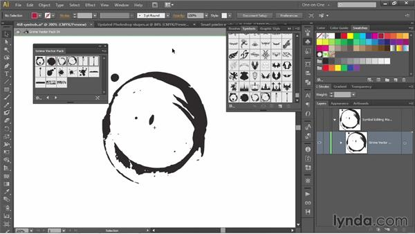 Acquiring, trading, and previewing symbols: Illustrator CC 2013 One-on-One: Mastery