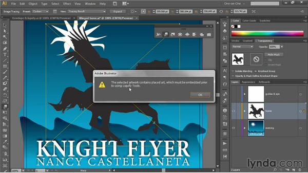 Introducing the Warp tool: Illustrator CC 2013 One-on-One: Mastery