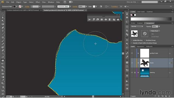 The Scallop, Crystallize, and Wrinkle tools: Illustrator CC 2013 One-on-One: Mastery