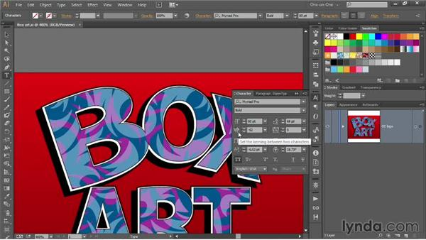 Tweaking transformations numerically: Illustrator CC 2013 One-on-One: Mastery